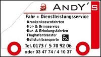 Andy's Fahr + Dienstleistungsservice