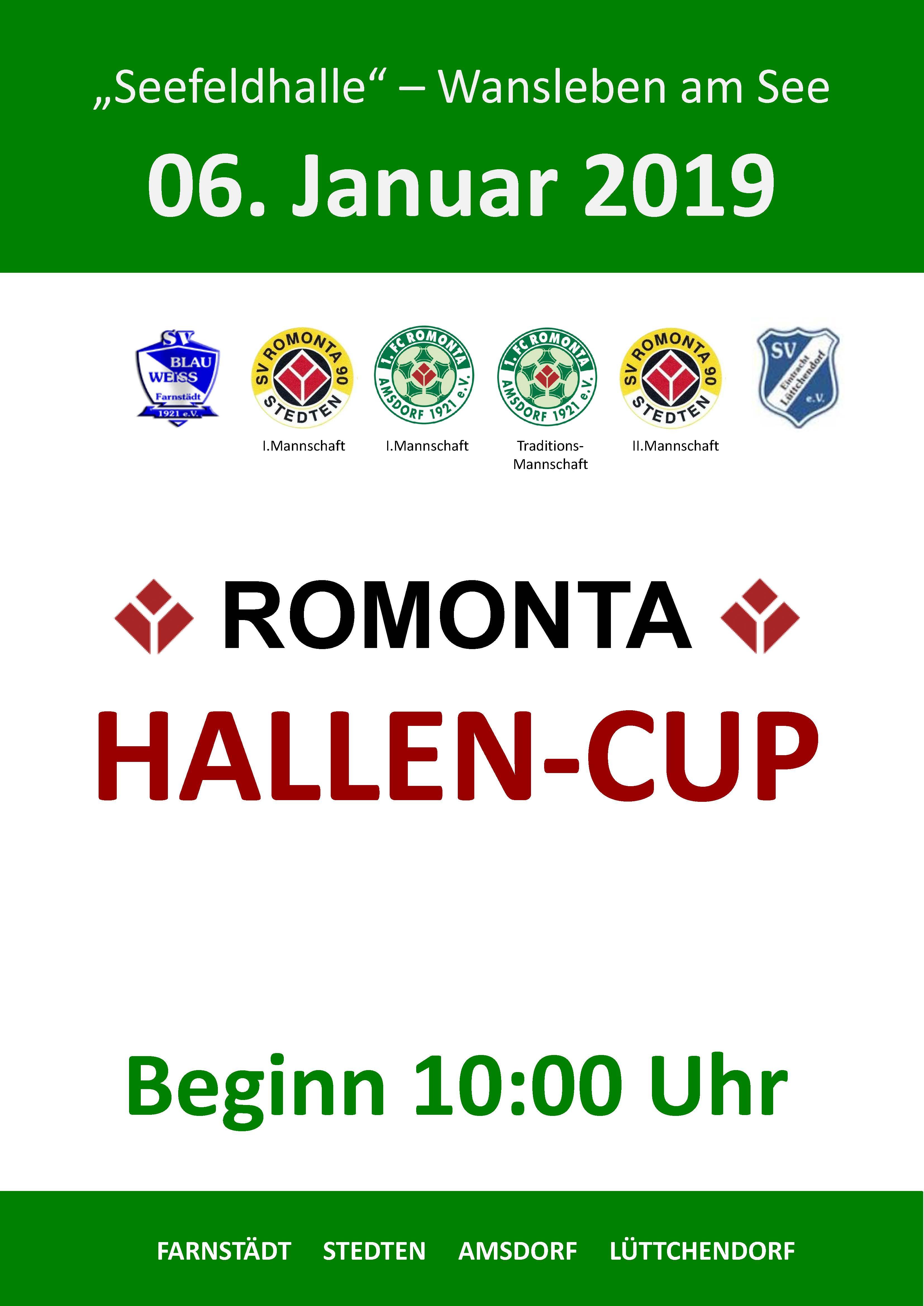 Romonta Cup 2019